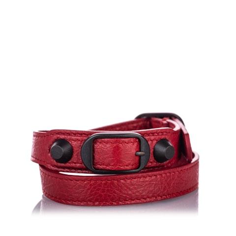 Classic Arena Wrap Leather Bracelet