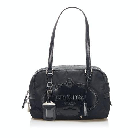 Canapa Tessuto Shoulder Bag