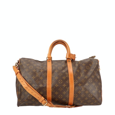 Monogram Canvas Keepall Bandouliere 45