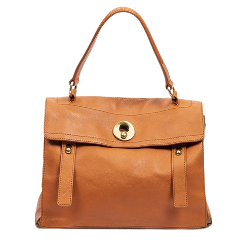 Muse Two  in Orange Calf Leather