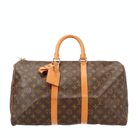 Monogram Canvas Keepall 45
