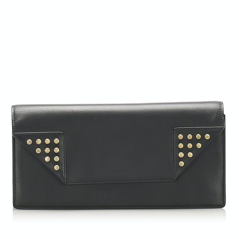 Betty Leather Clutch Bag