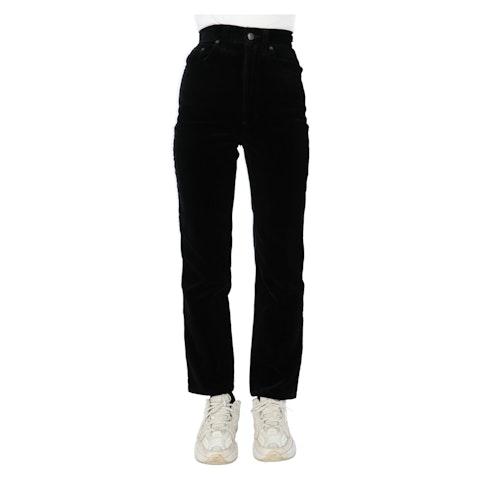 Black Velour Pants