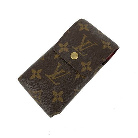 Louis Vuitton Monogram Canvas Etui Phone Holder Belt Pouch