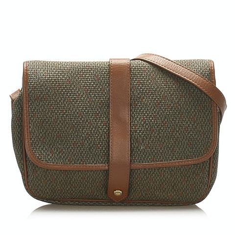 Weaved Crossbody Bag