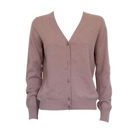 Rose Wool Cardigan