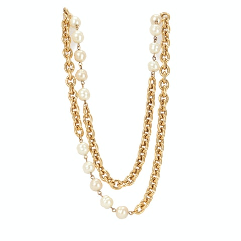 Chanel Gold Long Necklace