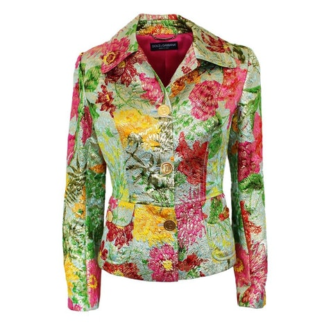 Multicolor Leather Jacket