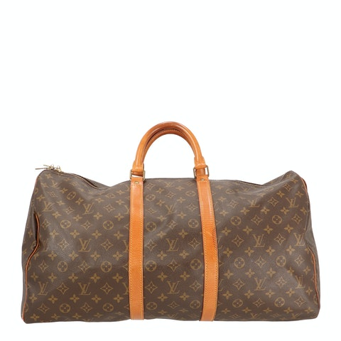 Monogram Canvas Keepall 50