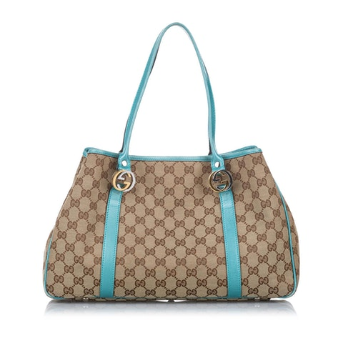 GG Canvas Twins Tote Bag
