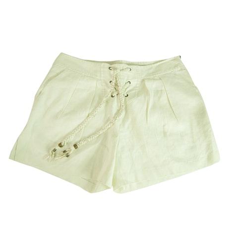 Off White Ecru Shorts