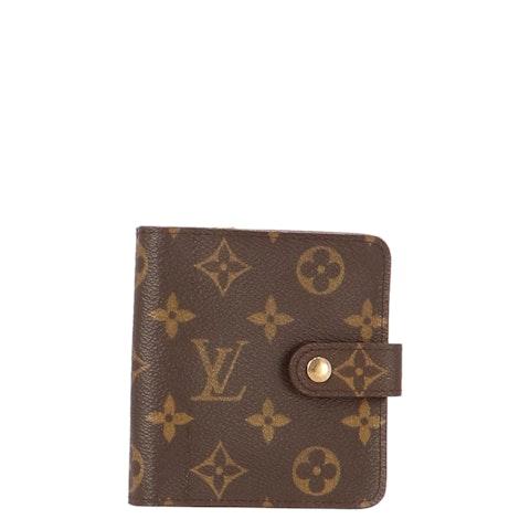 Monogram Canvas Bifold Wallet