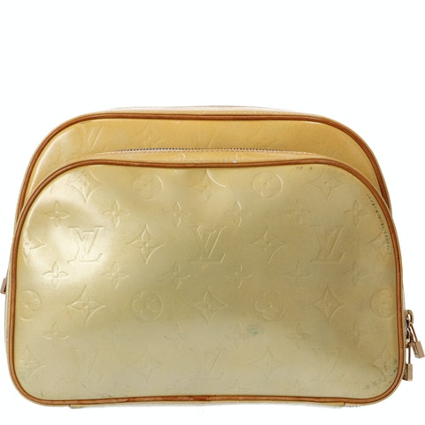 Louis Vuitton Yellow Monogram Vernis Murray Backpack
