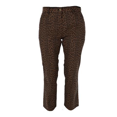 Animal print Fabric Pants