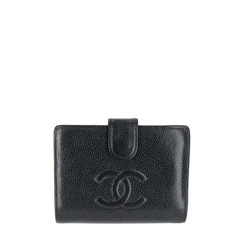Black Caviar Bifold Wallet