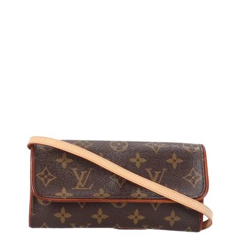Louis Vuitton Monogram Canvas Twin Pochette PM