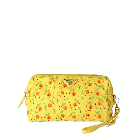 St. Palm Nylon Cosmetic Pouch