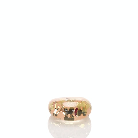 Resin Crystal Inclusion Ring