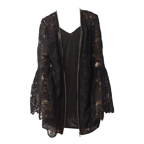 Black Fabric Jacket