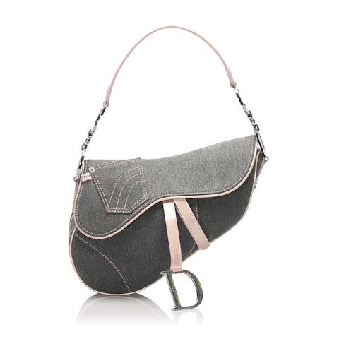 Denim Saddle Bag