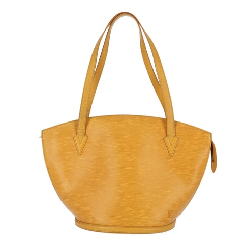 Louis Vuitton Yellow Epi Saint Jacques