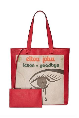 Gucci, Elton John large tote.