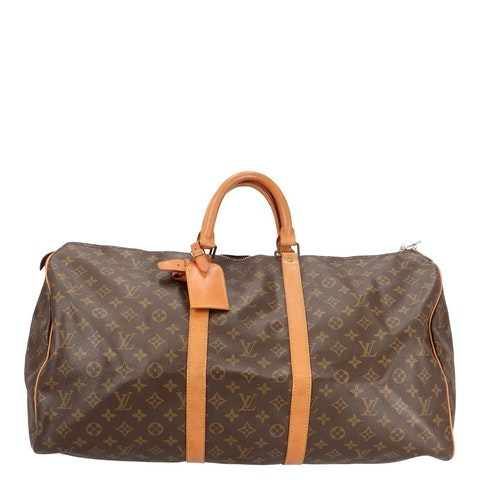 Monogram Canvas Keepall 55