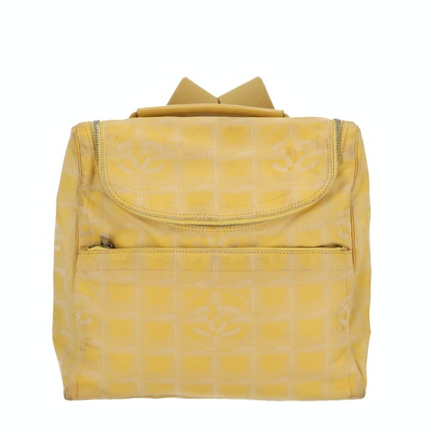 Yellow New Travel Line Backpack