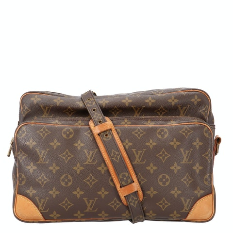 Monogram Canvas Nile GM