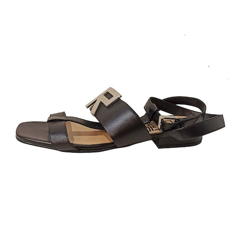Leather Black Sandals