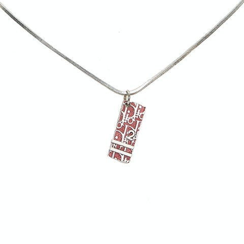 Dior Oblique Trotter Pendant Necklace