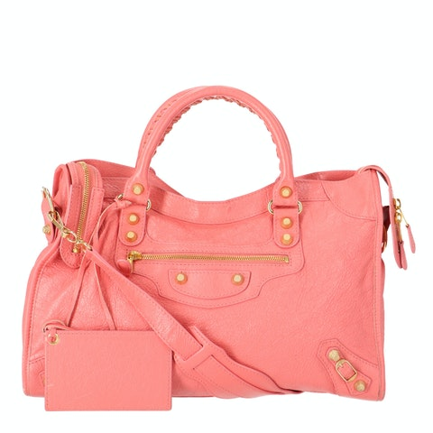 Pink Lambskin City Giant 12