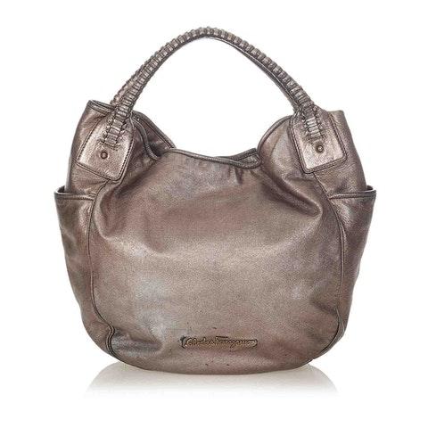 Bea Leather Hobo Bag