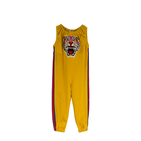Yellow Tiger Jumpsuit