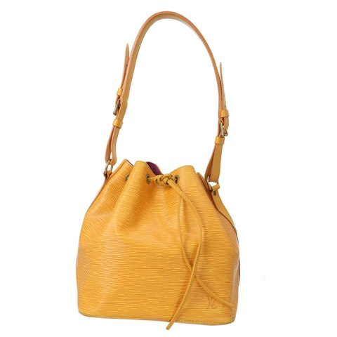 Louis Vuitton Yellow Epi Petit Noe
