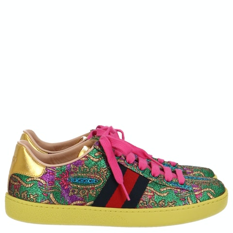 Multicolor Jacquard Ace Sneakers