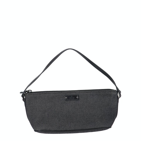 Gucci Grey Denim Boat Pochette
