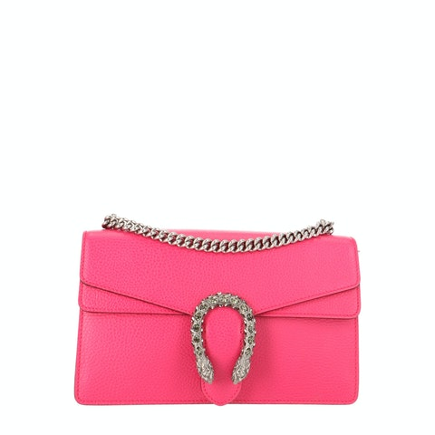Pink Leather Dionysus Small