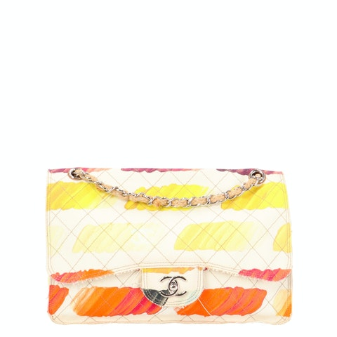 Colorama Watercolor Canvas Speciality Flap Bag