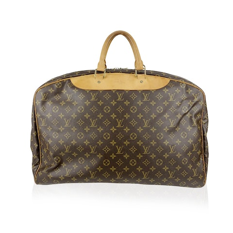 Louis Vuitton Vintage Monogram Canvas Alize 1 Poche Travel Bag