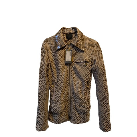 Brown Zucca Cotton Jacket