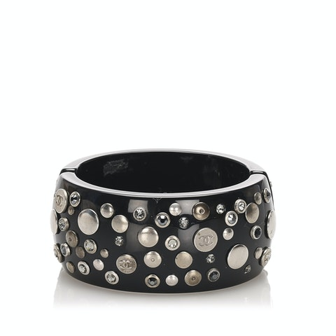 CC Rhinestone Studded Bangle