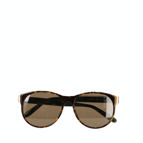 Brown Acetate Sunglasses