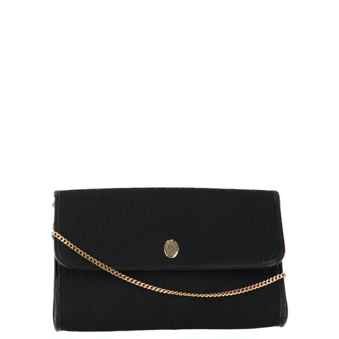 Black Satin Crossbody