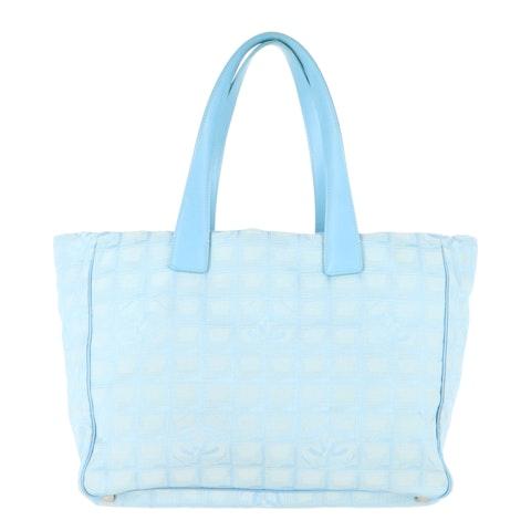 Blue New Travel Line Shoulder Bag