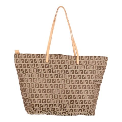 Brown Zucca Canvas Shopper