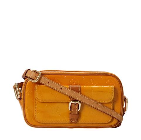 Orange Monogram Vernis Christie MM