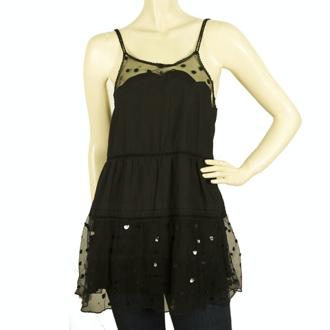 See by Chloe Long Cami Top