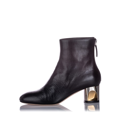 Ankle Leather Boot