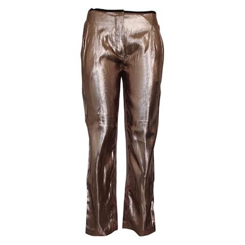 Gold Silk Pant
